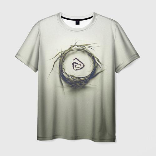 Мужская футболка 3D Настоящий Детектив Символ