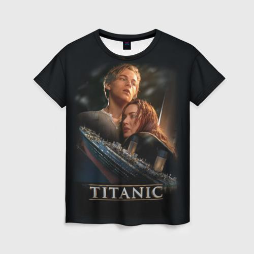 Женская футболка 3D Джек и Роза