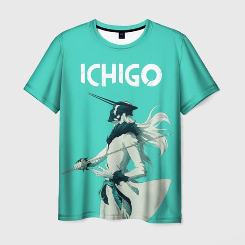 Мужская футболка 3D Куросаки Ичиго