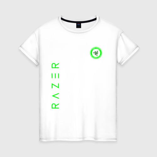 Женская футболка хлопок RAZER