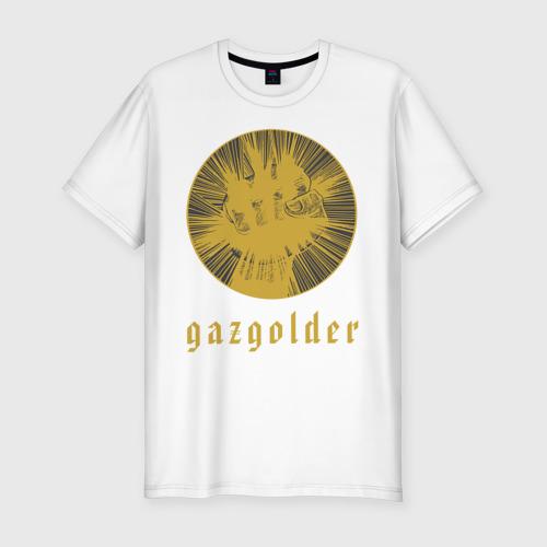 Мужская футболка хлопок Slim Банда Gaz'a