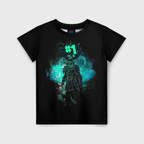 Детская футболка 3D Fortnite. Ragnarok