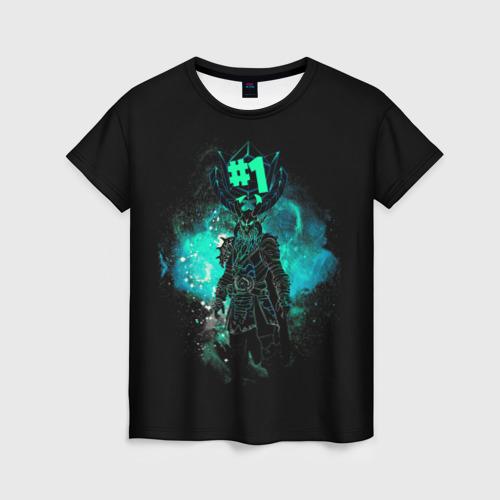 Женская футболка 3D Fortnite. Ragnarok