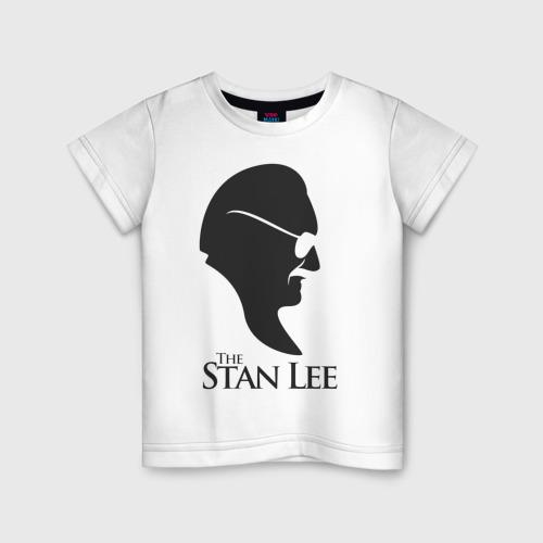 Детская футболка хлопок Стэн Ли