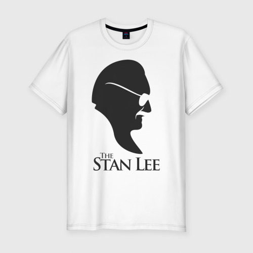 Мужская футболка хлопок Slim Стэн Ли