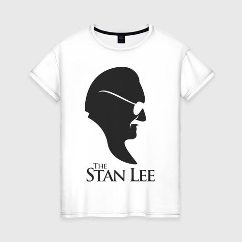 Женская футболка хлопок Стэн Ли