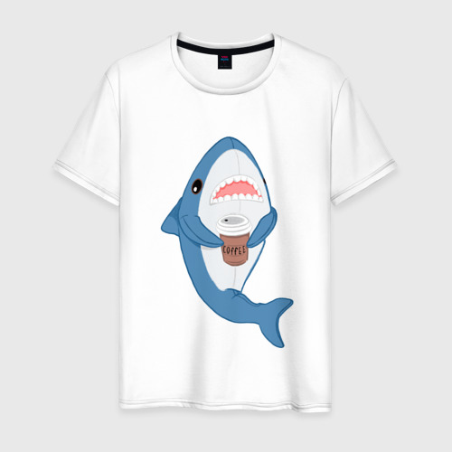 Мужская футболка хлопок Hype Shark