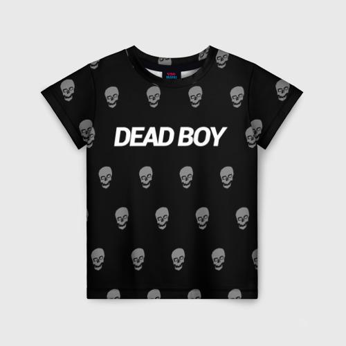 Детская футболка 3D Bones Deadboy