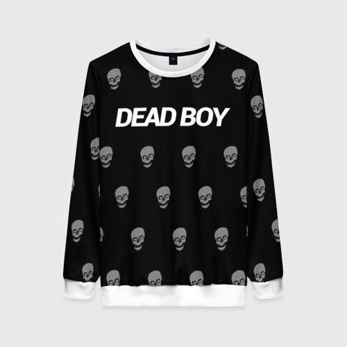 Женский свитшот 3D Bones Deadboy