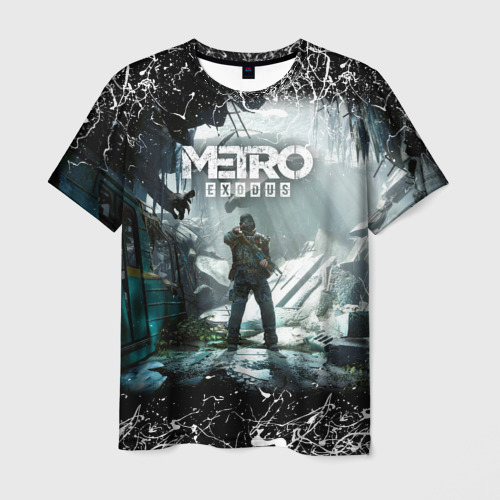 Мужская футболка 3D Metro Exodus 2