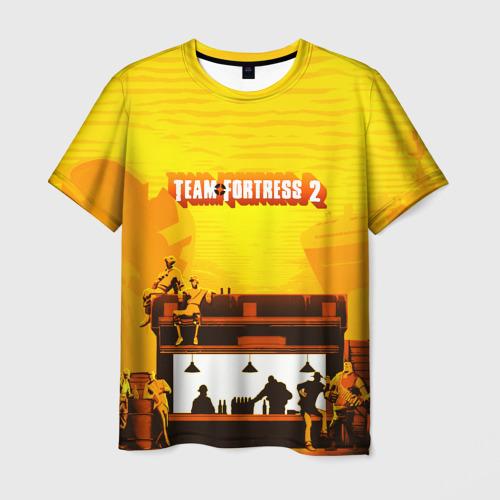 Мужская футболка 3D Team Fortress 2