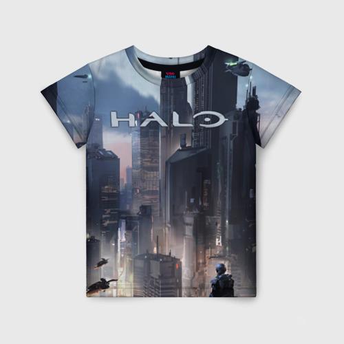 Детская футболка 3D Halo
