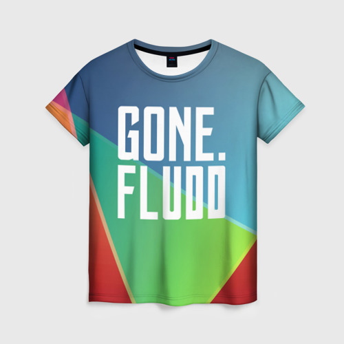 Женская футболка 3D GONE.Fludd