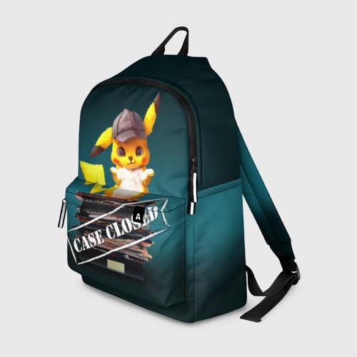 Рюкзак 3D Дело закрыто покемоном