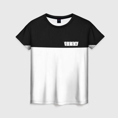 Женская футболка 3D DEAD SESH (НА СПИНЕ)