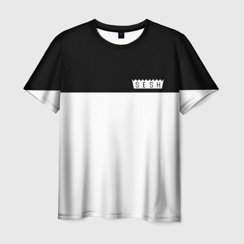 Мужская футболка 3D DEAD SESH (НА СПИНЕ)