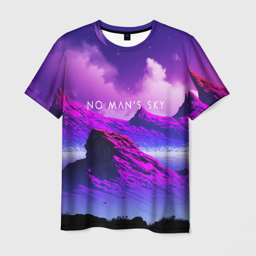 Мужская футболка 3D No Mans Sky