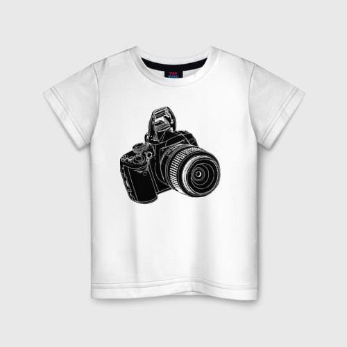 Детская футболка хлопок зеркалка