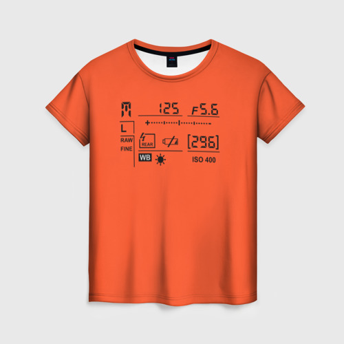 Женская футболка 3D Settings