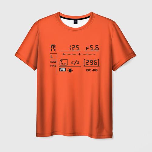 Мужская футболка 3D Settings