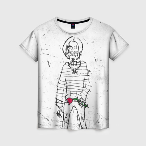 Женская футболка 3D Lizer - Blessed