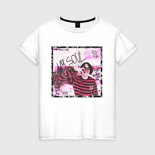 Женская футболка хлопок Lizer - MY SOUL
