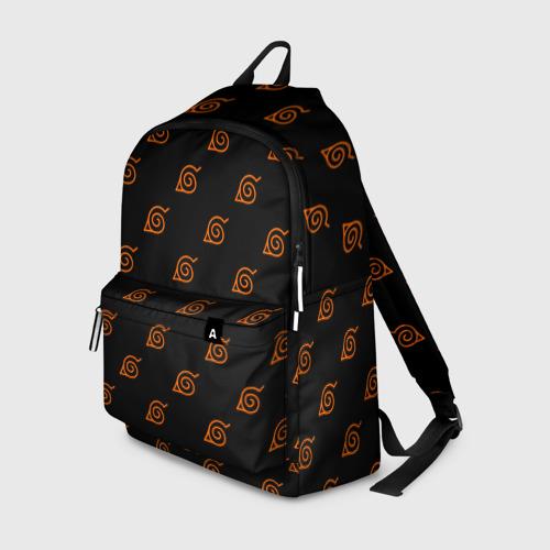 Рюкзак 3D Знак скрытого листа (Naruto) 2