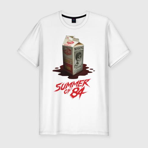 Мужская футболка хлопок Slim Summer of 84