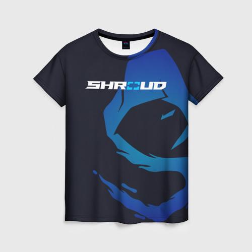 Женская футболка 3D «Shroud» - рюкзак