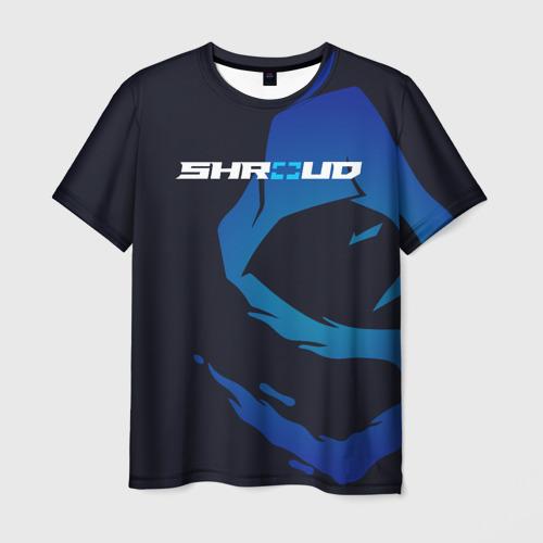 Мужская футболка 3D «Shroud» - рюкзак