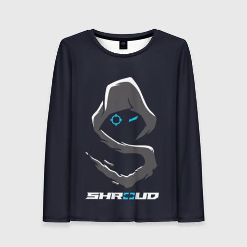 Женский лонгслив 3D Стример «Shroud»