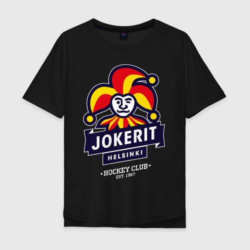 Мужская футболка хлопок Oversize Йокерит ХК