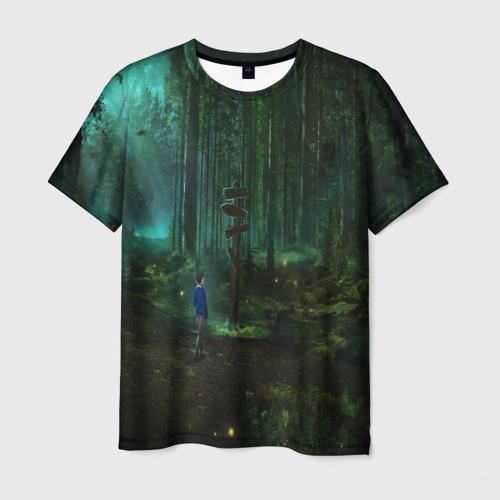Мужская футболка 3D Очень странные дела