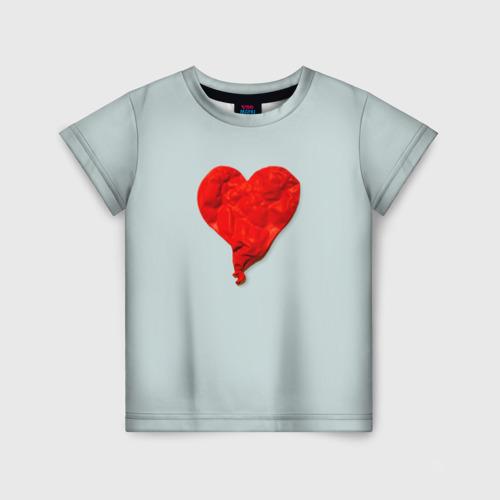 Детская футболка 3D Kanye West Heartbreak