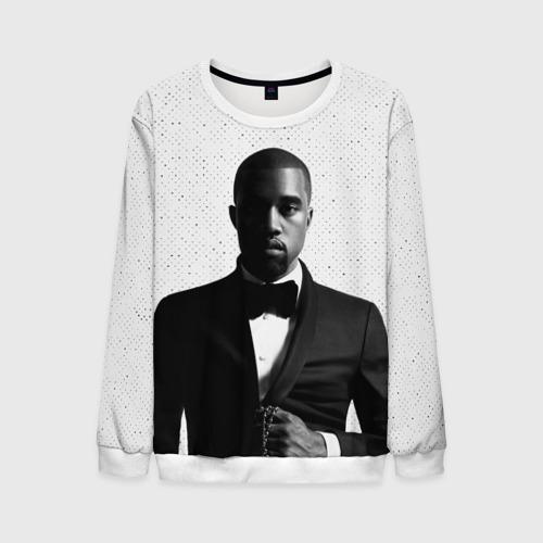 Мужской свитшот 3D Kanye West Halftone