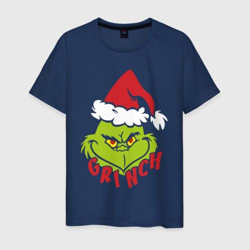 Мужская футболка хлопок Cristmas Grinch