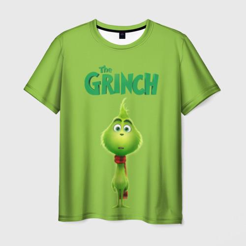 Мужская футболка 3D The Grinch