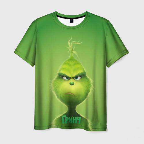 Мужская футболка 3D Гринч