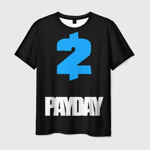 Мужская футболка 3D PAYDAY