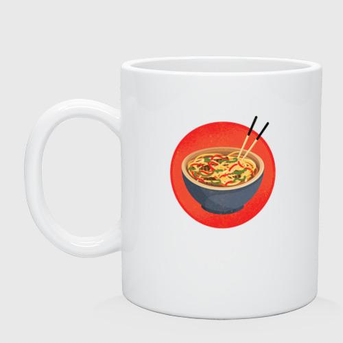 Кружка керамическая Суп Фо