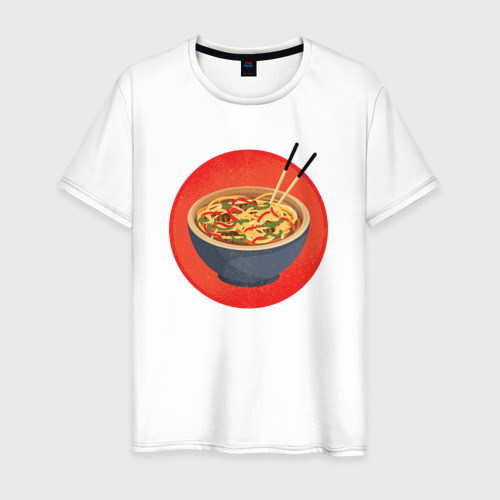 Мужская футболка хлопок Суп Фо