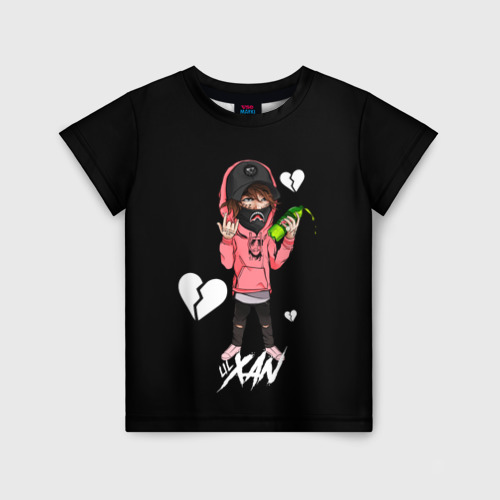 Детская футболка 3D LIL XAN