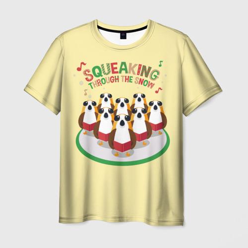Мужская футболка 3D Поющие Порги