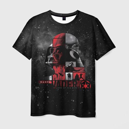 Мужская футболка 3D VADER