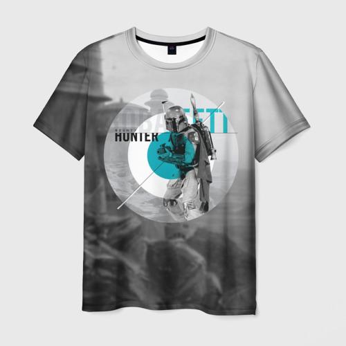 Мужская футболка 3D Bounty Hunter