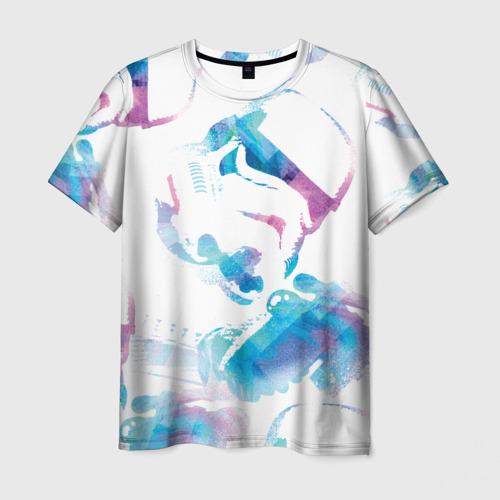 Мужская футболка 3D Штурмовик