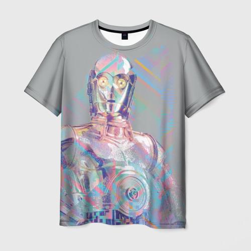 Мужская футболка 3D C3PO