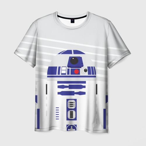 Мужская футболка 3D R2-D2