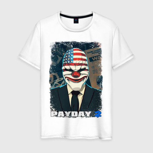 Мужская футболка хлопок Payday 2