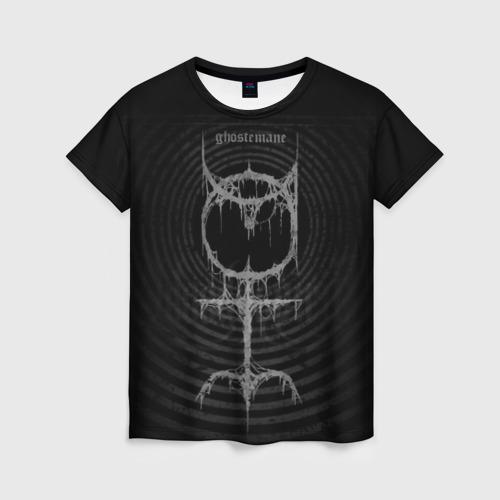 Женская футболка 3D Ghostemane
